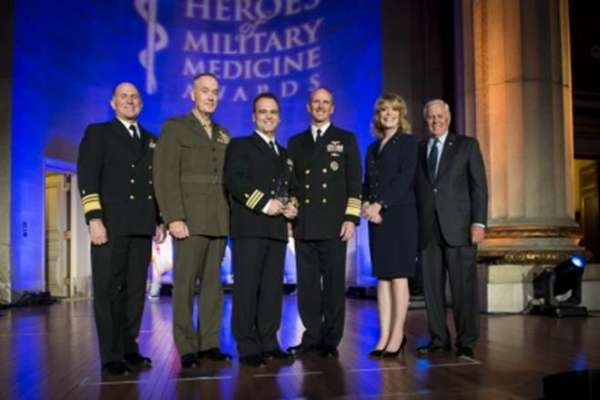 Hero of military medicine award