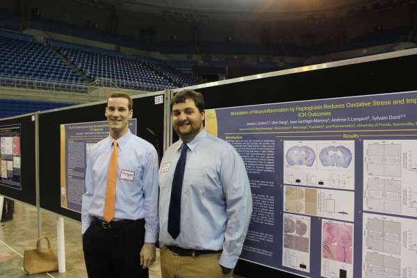 Andrew Lampert and Matthew Diller at the 2016 Celebration of Research