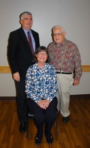Dr. Morey, Rebecca Lovely, and Dr. Modell