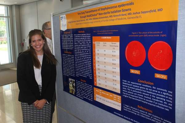 Abigail Schirmer at the Department of Anesthesiology's 2016 Celebration of Research