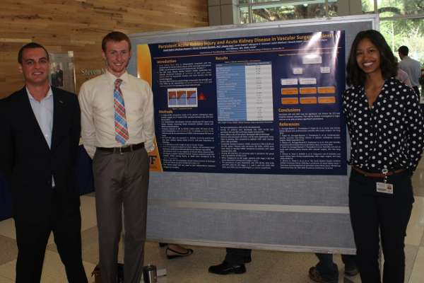 Poster presenters at the Department of Anesthesiology's 2016 Celebration of Research