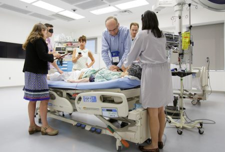 Faculty from the UF College of Medicine and other areas of the Health Science Center participated in a simulation instructor course hosted by Harvard faculty.