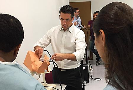 Christopher Giordano, MD teaching