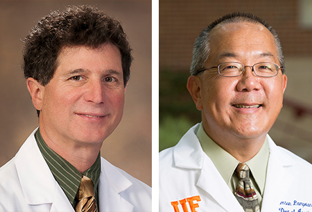 Robert Loeb, MD, and Samsun Lampotang, PhD
