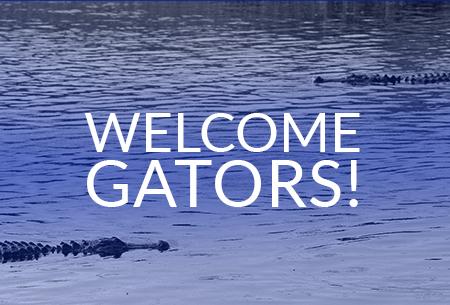 Welcome, Gators!