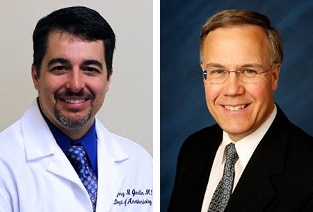 Dr. Greg Janelle and Dr. Tim Martin