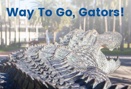 Way to go, Gators