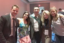 Dr. Algarra and residents at ASA
