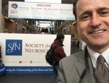Dr. Dore at the Annual Meeting of the Society of Neuroscience
