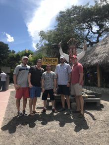Team at the Equator