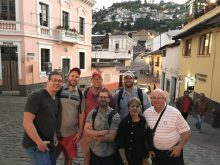 UF anesthesiologists in Ecuador