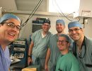 UF anesthesiologists at La Vida Surgical Center in Ecuador