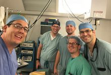 UF anesthesiologists at La Vida Surgical Center in Ecuador