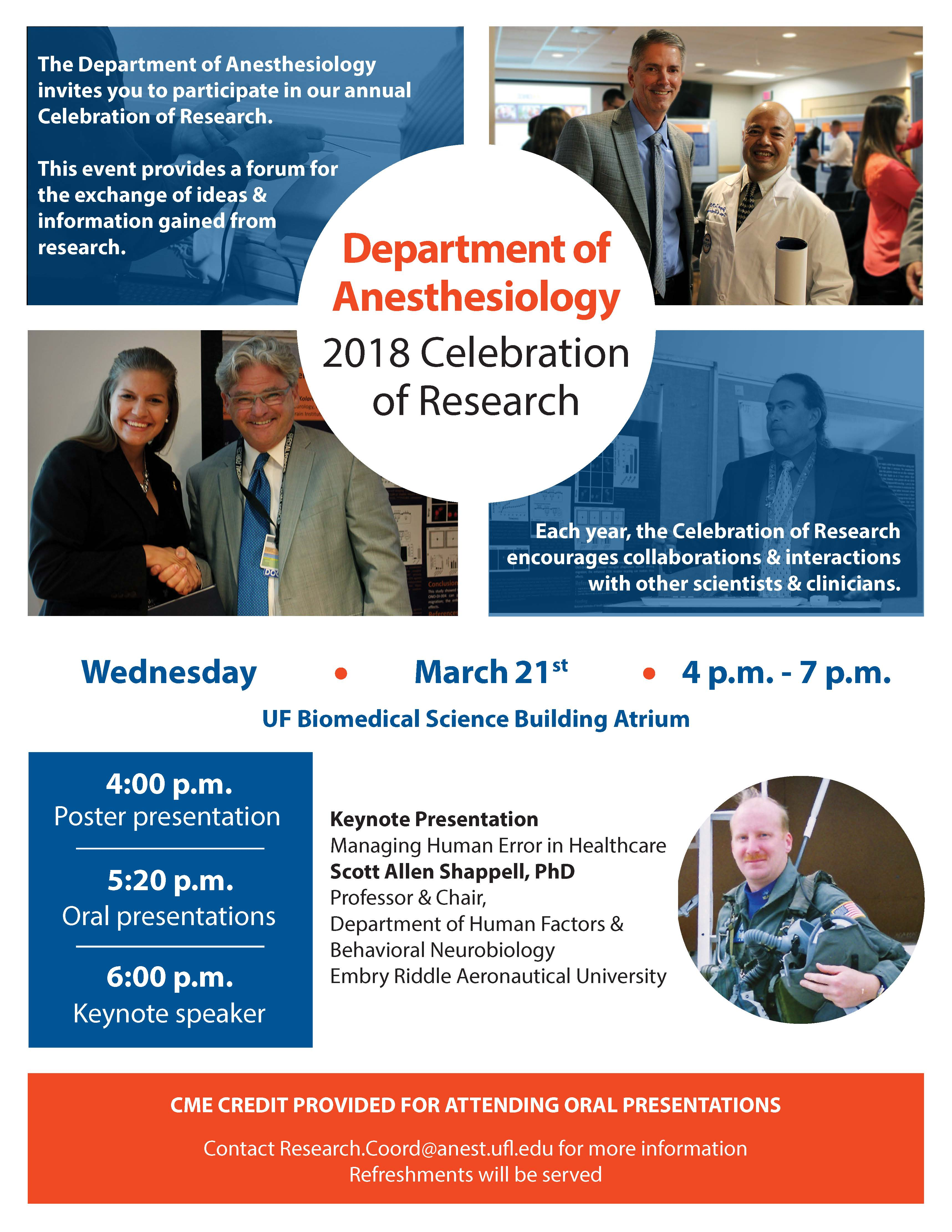 2018 Celebration of Research
