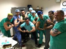 Clinicians in Ecuador Clinic