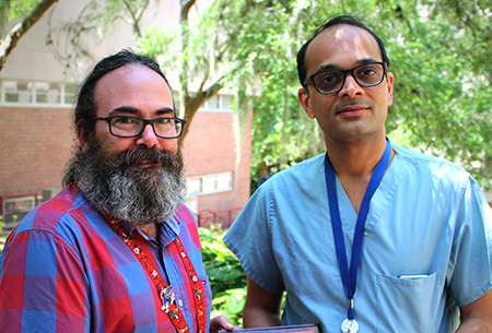 Travis Parsons, PhD, and Dr. Narendra Batulla
