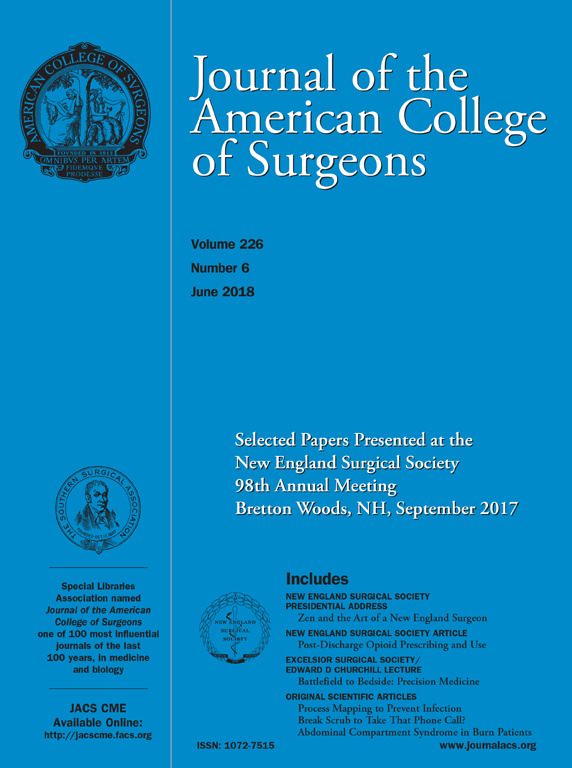 Journal of the American College of Surgeons June cover