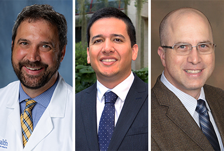 Drs. McNeil, Mora, and Trippensee