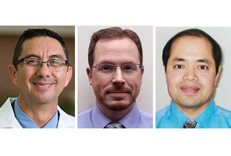 Drs. Algarra, Smith, and Zhu