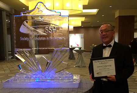 Dr. Lampotang inducted into the SSH class of 2019 fellows