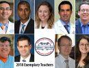 2018 Exemplary Teachers