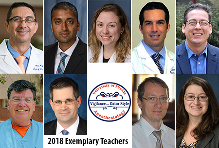 2018 Exemplary Teachers