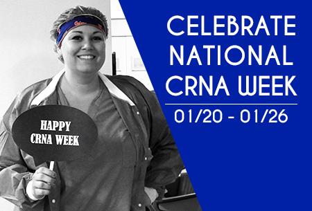 Celebrate CRNA Week