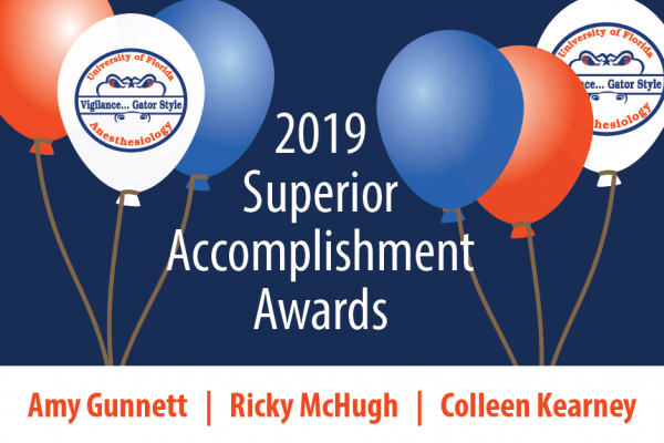 2019 Superior Accomplishment Award Winners