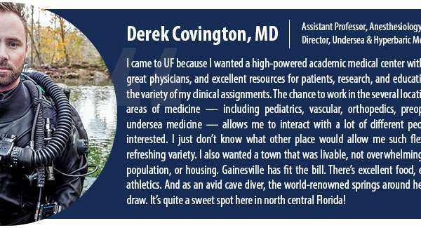 Faculty Spotlight: Derek Covington, MD