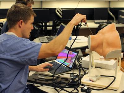 Resident learning on a CVA sim