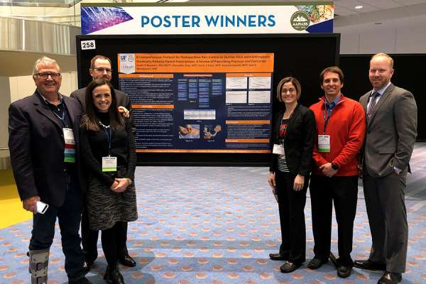 Department group at AAPM meeting