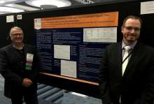 Drs. Boezaart and Smith at the AAPM meeting