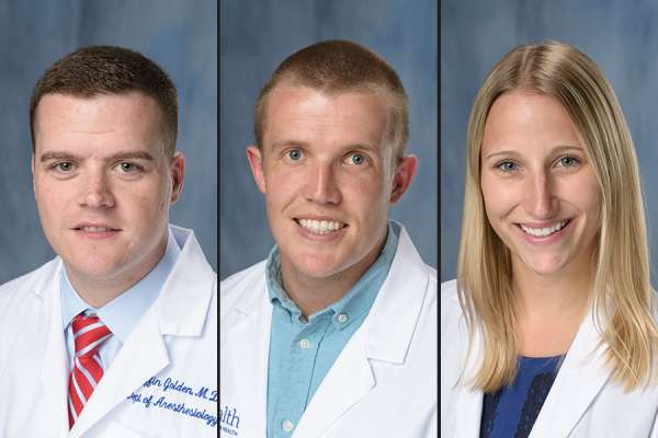 Drs. Golden, Heath and Wrazidlo
