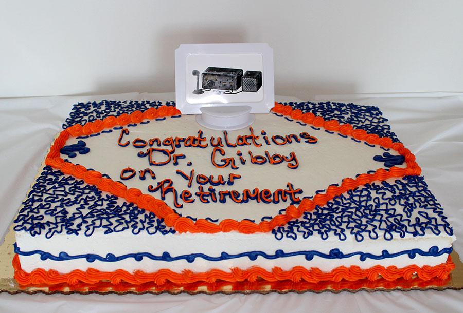 Dr. Gibby's cake