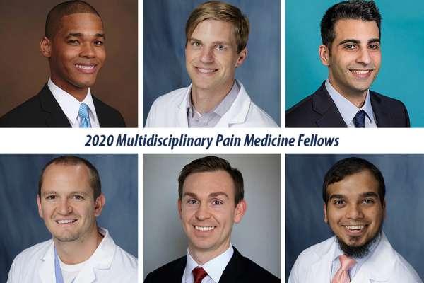 Our 2020 Pain Medicine Fellows