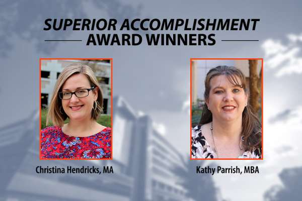 Superior accomplishment awards 2021