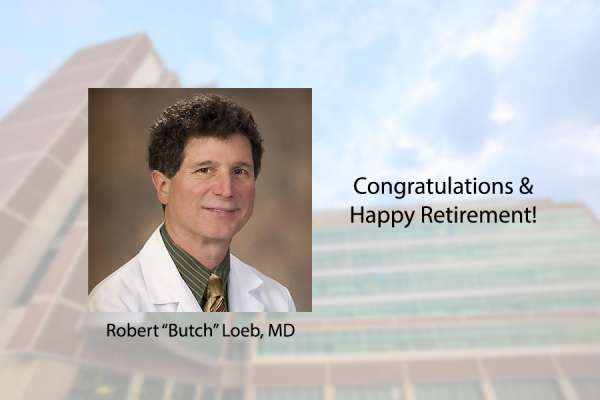Doctor Loeb retires