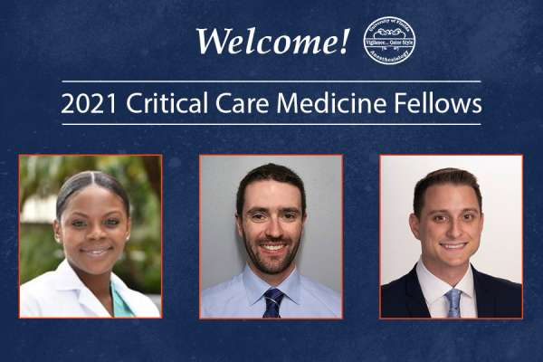 Headshots of our 2021 critical care medicine fellows