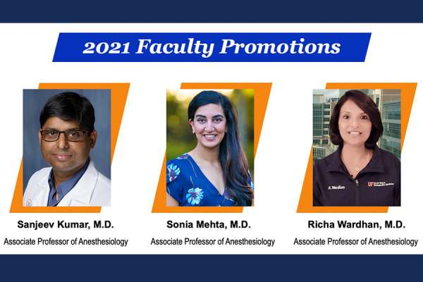 headshots of our 2021 faculty who were promoted