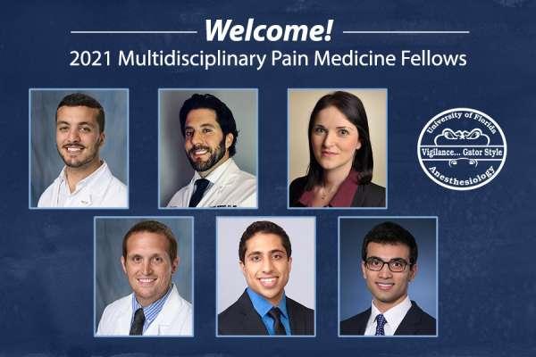 2021 Pain Medicine Fellows