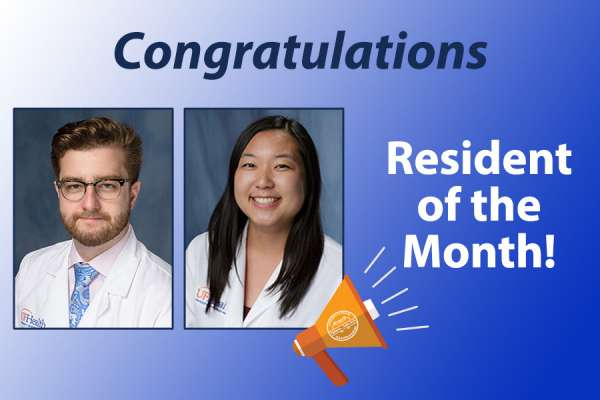 Doctors Suprun and Yen: Residents of the month