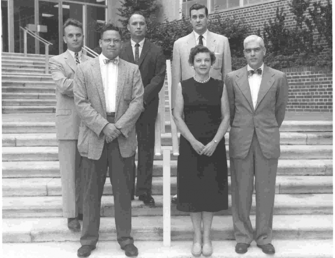 1958 Department of Anesthesia