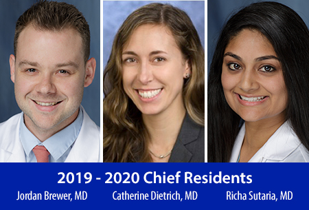 2019-2020 Chief Residents