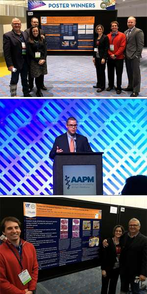 Our Acute Pain Medicine faculty, fellows, and residents at the 2019 AAPM meeting