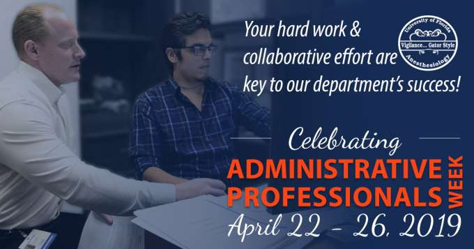 Administrative Professionals Week 2019