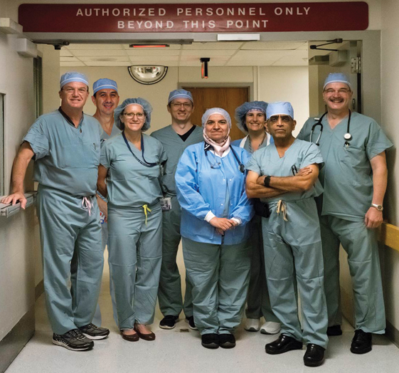 Neuroanesthesiology team
