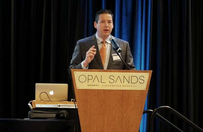 Sean Kiley, MD, speaking at GAARRC 2019