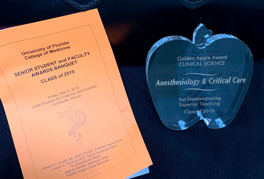 Golden Apple Award