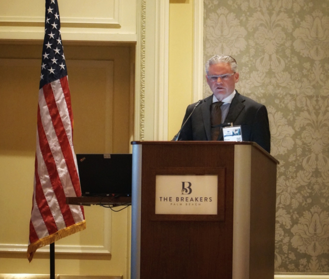 Dr. Spiess presenting at FSA