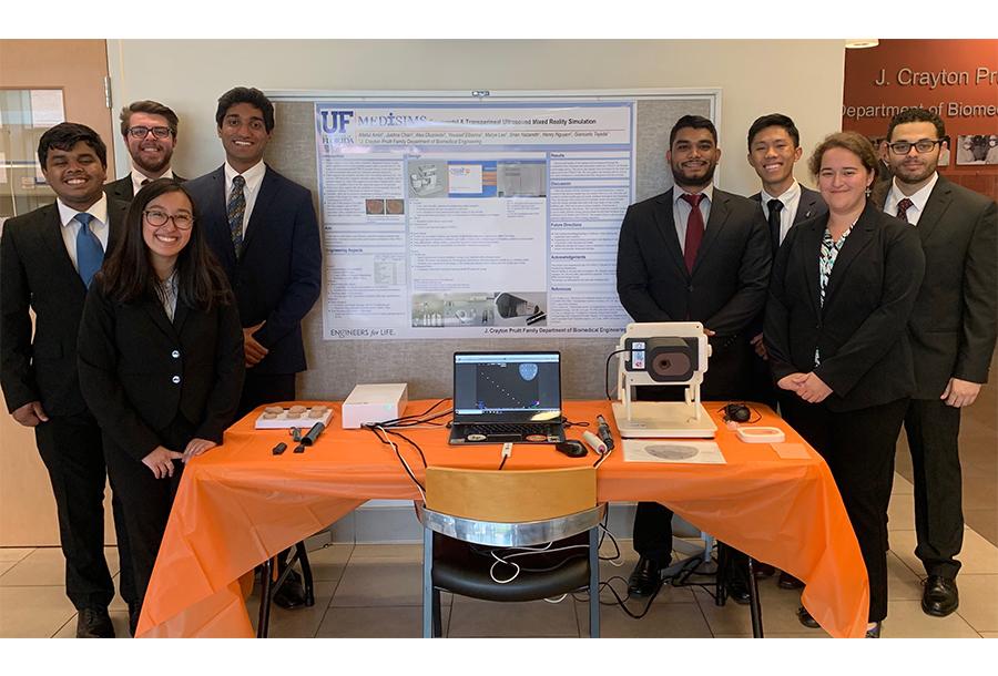 BME students with CSSALT sim design